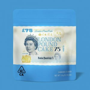 london pound cake